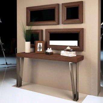 consola contemporanea en muebles lara