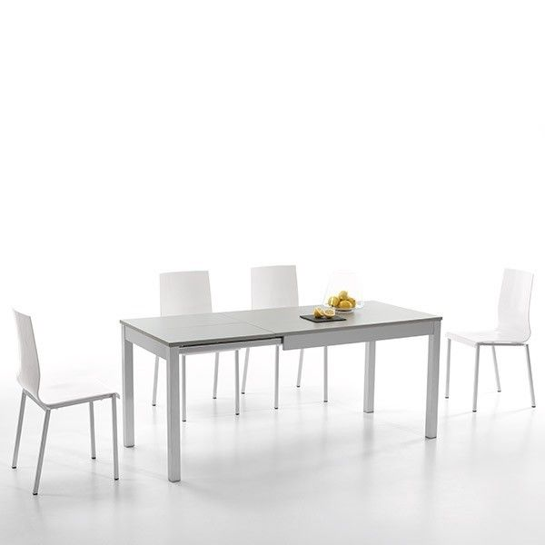 Mesa de cocina extensible lateral Indi