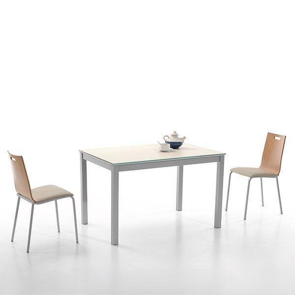 Mesa extensible cerámica Kati