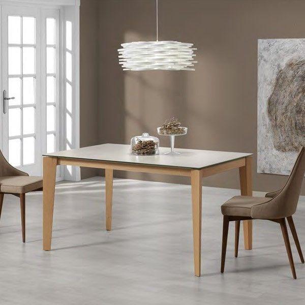Modelo de mesa rectangular extensible Geo