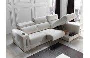Comprar sofá con chaiselongue en Muebles Lara