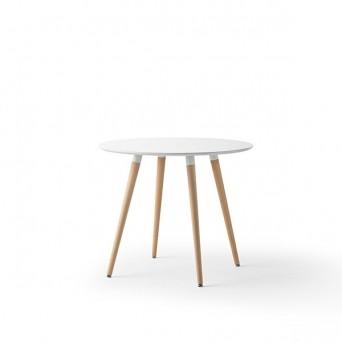 Mesa redonda estilo nordico Llosa