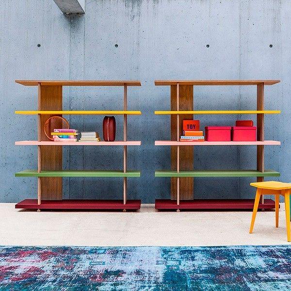Librería Zero 16 madera