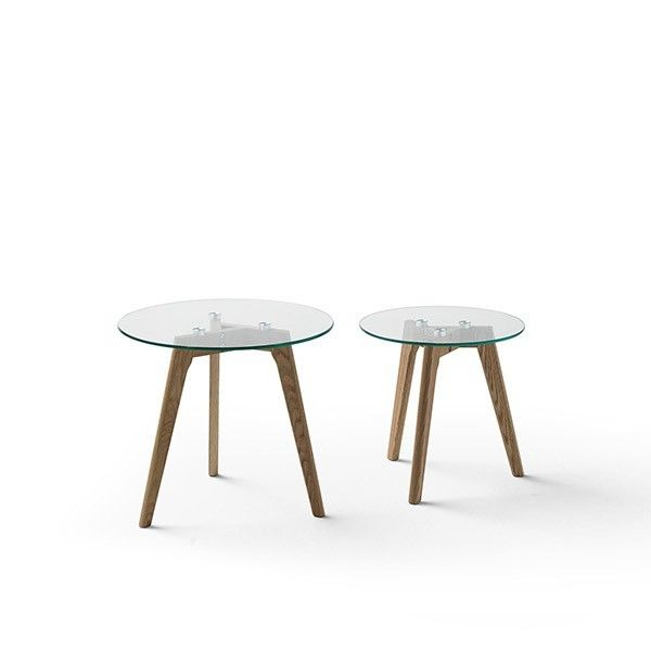 set mesas auxiliares estilo nordico Cortazar