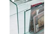 comprar online revistero moderno de cristal templado freya