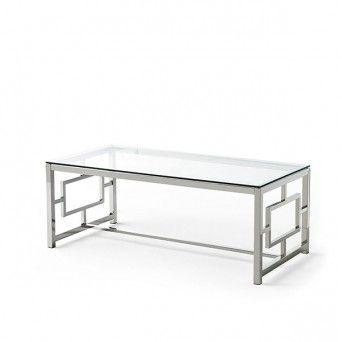 mesa centro moderna cristal sheldon