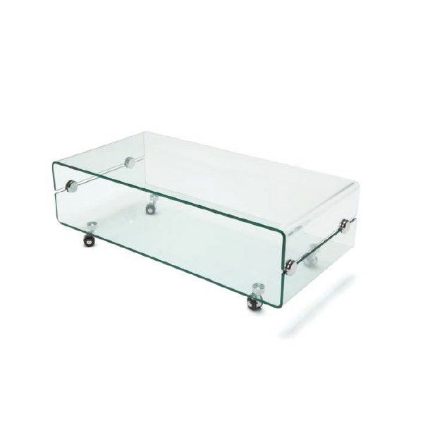 comprar online mesa TV cristal