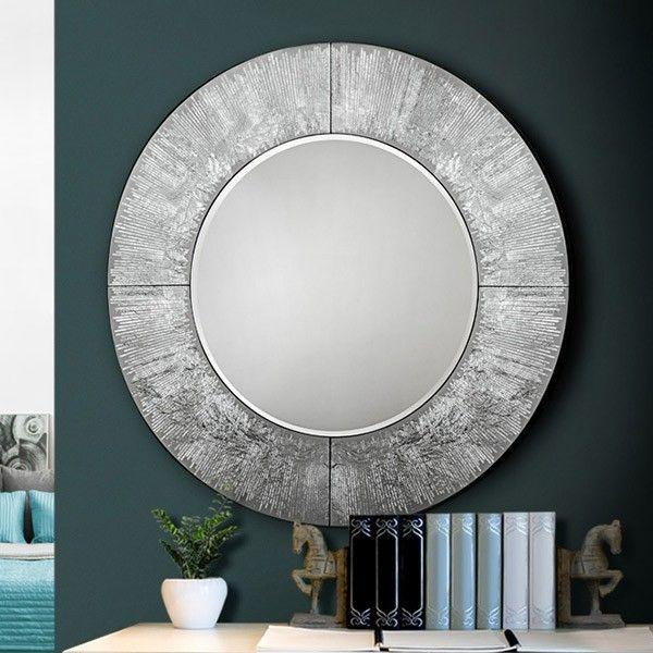 espejo aurora redondo en muebles lara