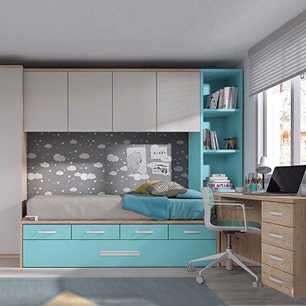 dormitorio juvenil compacto F033