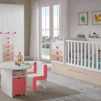 dormitorio infantil con cambiador