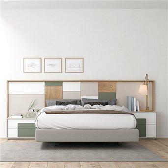 Dormitorio contemporáneo Oslo 3 online