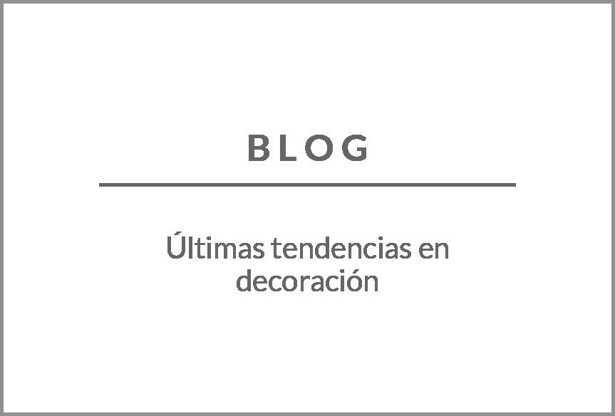 Blog de tendencias de decoración